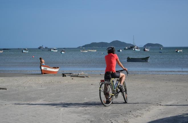 Pedaleando por Florianopolis (Brasil)